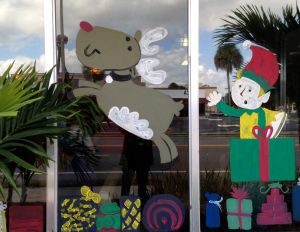 Windows at Beefy King, where Orlandoans have fortified themselves during Christmas shopping for more than 40 years.