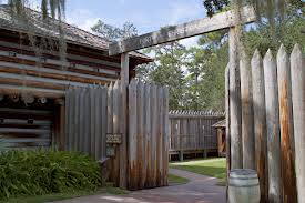 Fort Christmas Historical Park in east Orange County, Florida, includes a re-creation of the original 1837 structure.