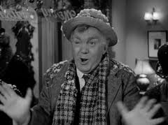 Thomas Mitchell as befuddled Uncle Billy. It's all OK in the end.